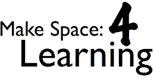 Make Space: 4 Learning Logo