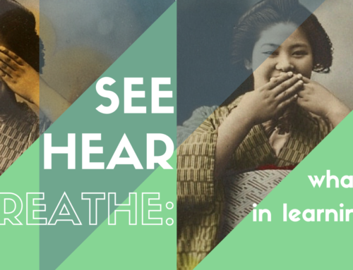 See, Hear and Breathe: What Matters in Learning Spaces